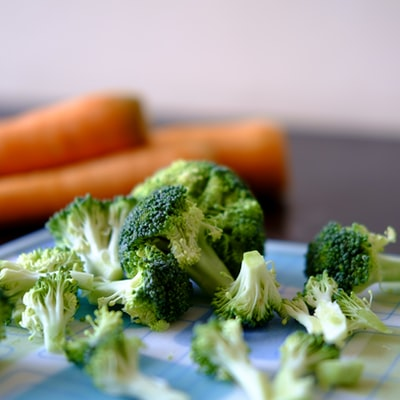 How to make a vegetable platter without cheese